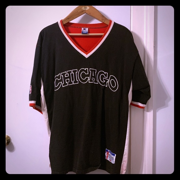 Champion Other - Chicago Bulls vintage 1996-97 shooting shirt